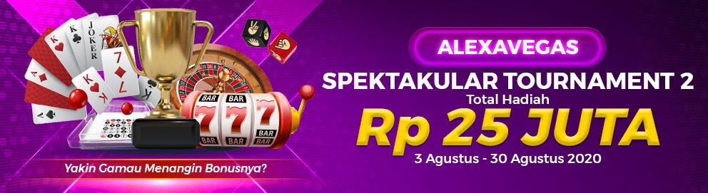 Alexavegas Tournament Spektakuler 2
